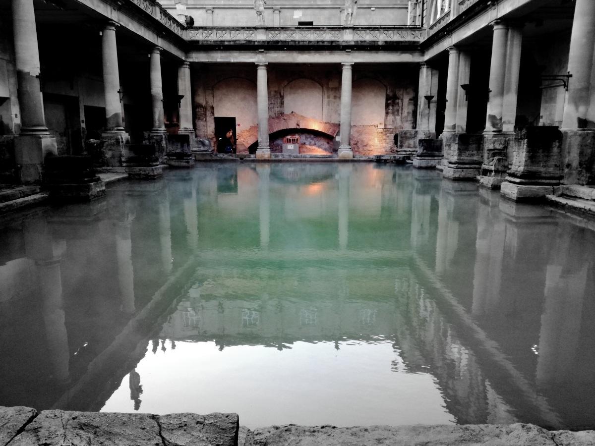 Bath - rzymskie miasto w Anglii